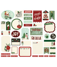 SIMPLE STORIES - Jingle All the Way  - Journal Bits