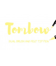TOMBOW - ABT-090  Baby Yellow Dual Brush Pen