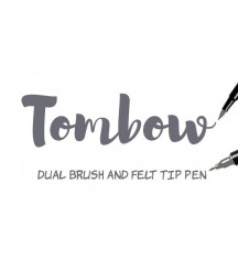 TOMBOW - ABT N55 N55 Cool Grey 7 Dual Brush Pen