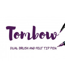 TOMBOW - ABT N55 679 Dark Plum Dual Brush Pen