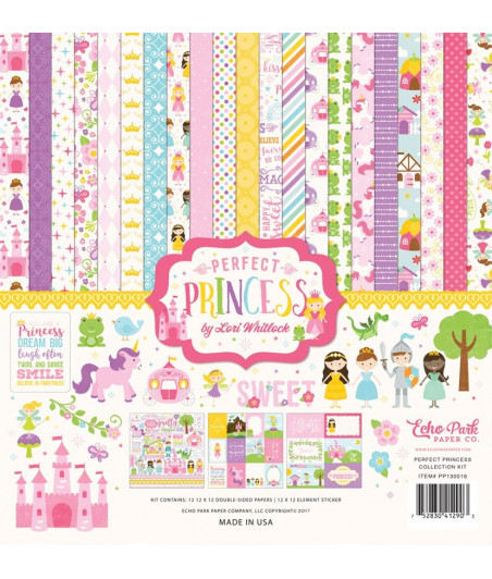 ECHO PARK - Perfect Princess - 12x12  Pad Collection Kit