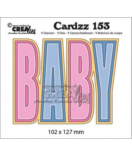 CREALIES - Cardzz no 153 BABY