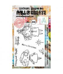 AALL & CREATE - 413 Stamp...