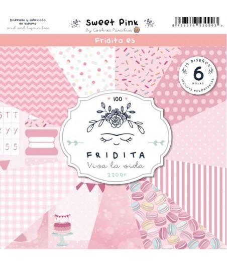 FRIDITA - SWEET PINK 6f set 12x12