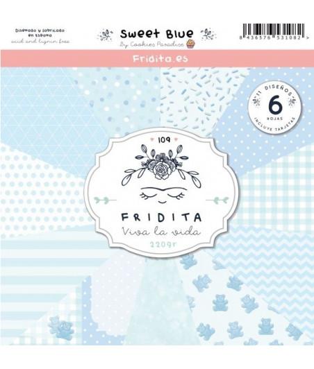 FRIDITA - SWEET BLUE 6f set 12x12