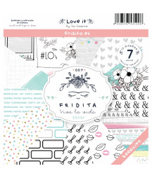 FRIDITA - LOVE IT 7f set 12x12