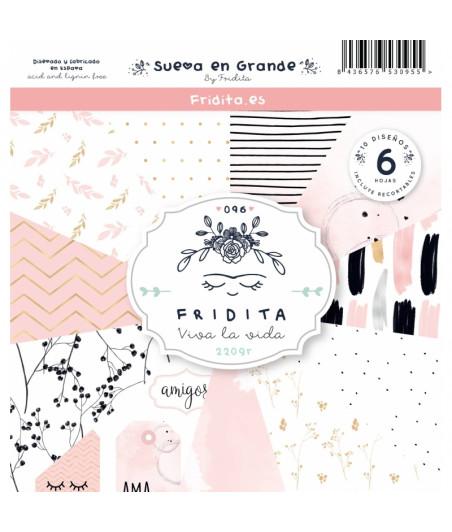 FRIDITA - SUEÑA EN GRANDE 6f set 12x12