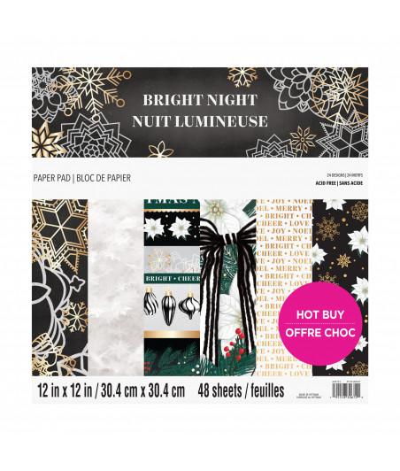 CRAFT SMITH -  Bright Night 12x12 Inch Paper Pad
