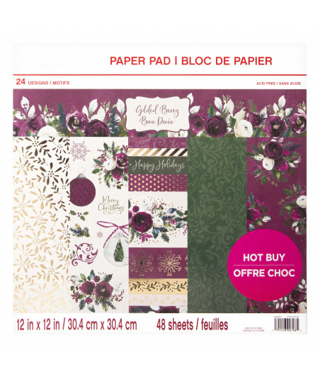 CRAFT SMITH - Wrapped with Care 12x12 Inch Paper Pad