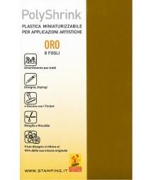 Polyshrink oro - conf. 8 fogli