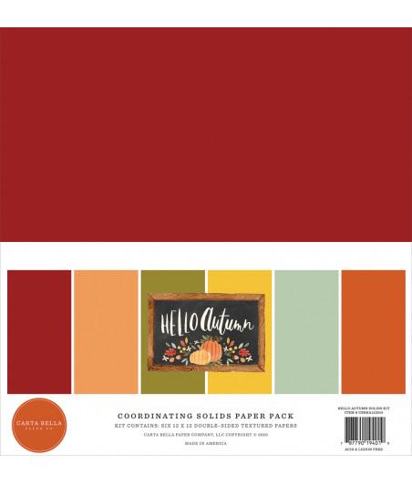 CARTA BELLA - Hello Autumn - 12X12 Inch Coordinating