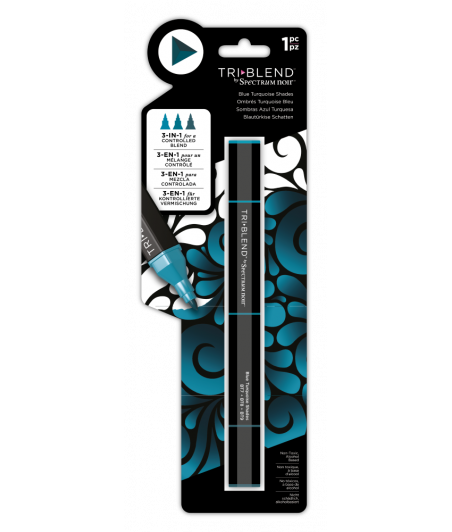 SPECTRUM NOIR - TriBlend Markers Blue Turquoise Shade
