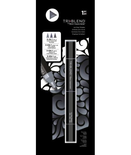 SPECTRUM NOIR - TriBlend Markers Ice Grey Shade