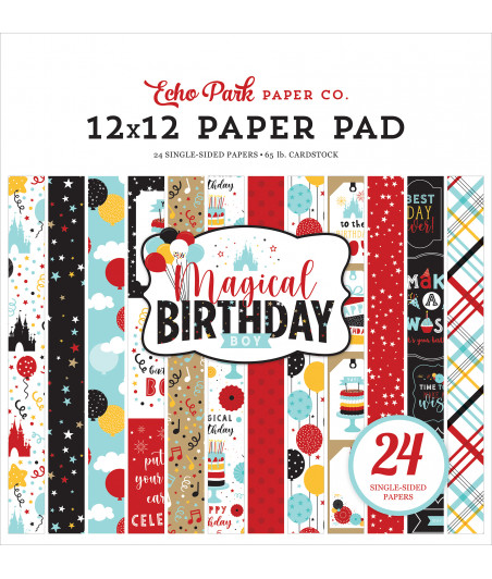 ECHO PARK - Magical Birthday Boy  6x6 Inch Paper Pad