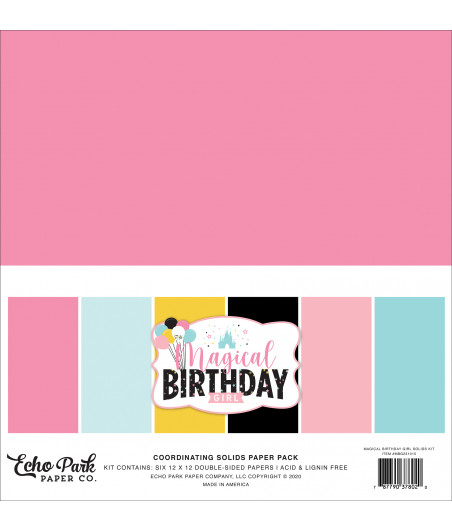ECHO PARK - Magical Birthday Girl - 12X12 Inch Coordinating