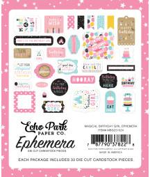 ECHO PARK - Magical Birthday Girl Ephemera