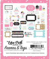 ECHO PARK - Magical Birthday Girl Frames & Tags