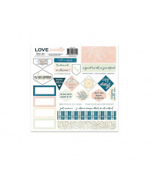 "BEATRICE GARNI - Collection Love Winter - 12""X12"""