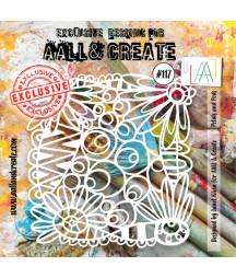 AALL & CREATE - Stencil 117