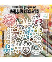 AALL & CREATE - Stencil 118