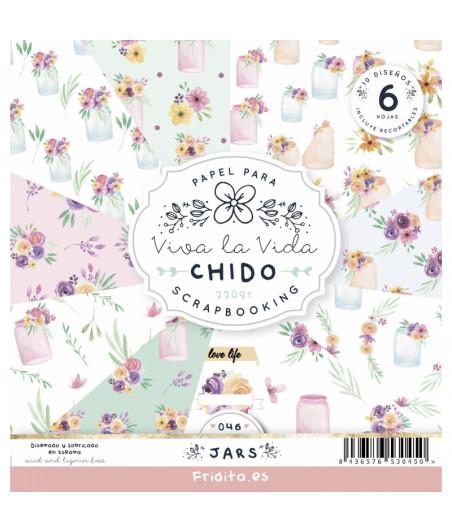 FRIDITA - JARS by CHIDO 6f set 12x12