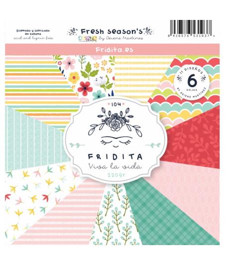 FRIDITA - FRESH SEASON´S 6f set 12x12