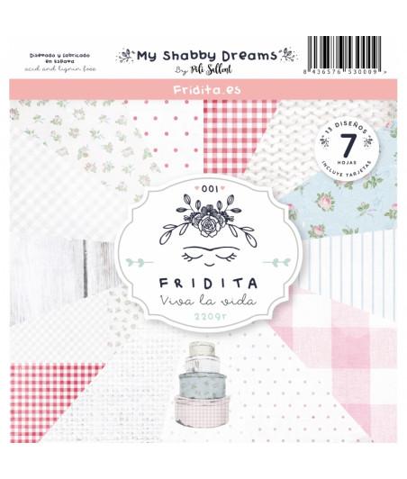 FRIDITA - My Shabby Dreams 6f set 12x12
