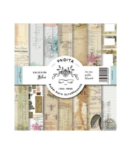 FRIDITA - PAPELES SHIBUI set 12x12