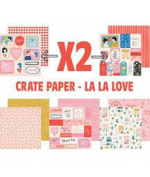 CRATE PAPER - La La Love -...