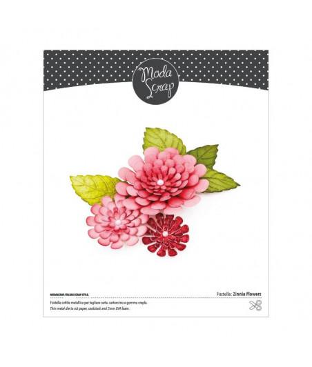MODASCRAP FUSTELLA - ZINNIA FLOWERS