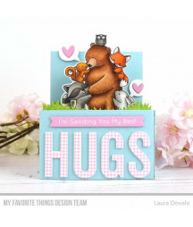 MY FAVORITE THINGS  - Clear Stamp - Hug It Out