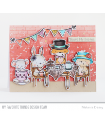 MY FAVORITE THINGS  - Clear Stamp - Tea Party
