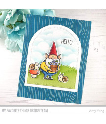 MY FAVORITE THINGS  - Clear Stamp -  You Gnome Me