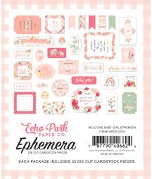 ECHO PARK - Welcome Baby Girl Ephemera