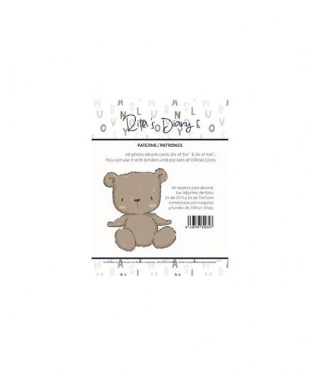 RITA RITA - Pack tarjetas Panda patrones