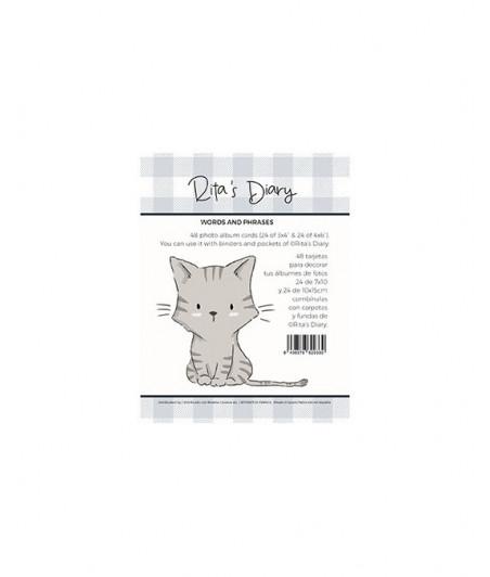 RITA RITA - Pack tarjetas Panda words and phrases
