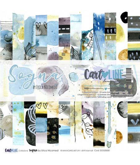 CartoLINE - Sogna by Erica Nicomedi 12''x12''