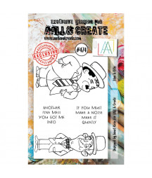 AALL & CREATE - 474 Stamp...