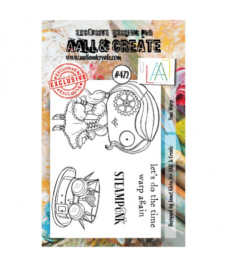 AALL & CREATE - 472 Stamp A7 Time Warp