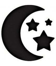 EK TOOLS - Punch medium moon and stars 2cm