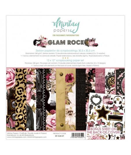 MINTAY BY KAROLA - Glam Rock - 12x12  Pad Collection Kit
