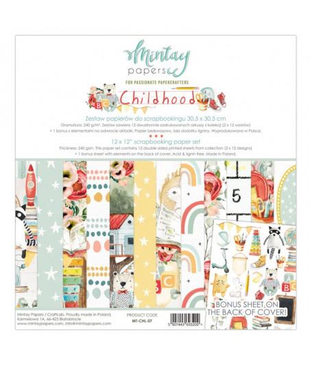 MINTAY BY KAROLA - Childhood - 12x12  Pad Collection Kit