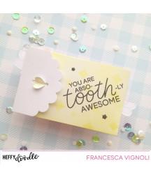 HEFFY DOODLE - Heart Gift Card Pocket Dies