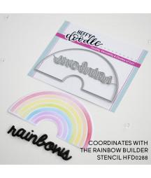 HEFFY DOODLE - Rainbow...