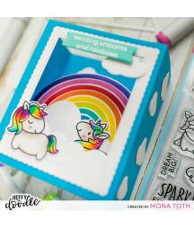 HEFFY DOODLE - Rainbow Builder Dies