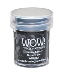 WOW! - Primary Ebony Super fine