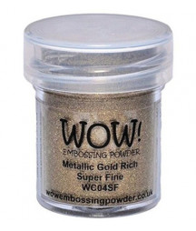 WOW! - Metallic Gold Rich Super fine