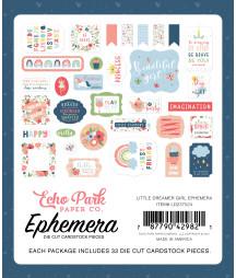 ECHO PARK - Little Dreamer Girl Ephemera
