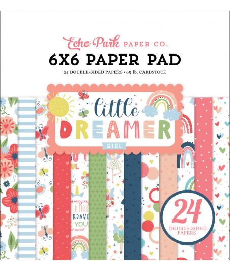 ECHO PARK - Little Dreamer Girl 6x6 Inch Paper Pad