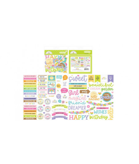 DOODLEBUG Design - Fairy Garden Chit Chat